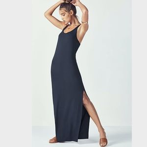 Fabletics - Iliana Maxi Dress - Navy - XS